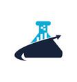 business formula logo design template vector image vector image
