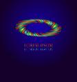Photo Eye Logo vector image