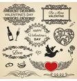 Valentines Day set vector image