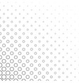 abstract black and white circle pattern vector image vector image