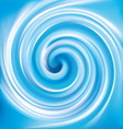 background of blue swirling texture vector image vector image