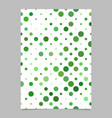 circle pattern brochure template - cover vector image vector image