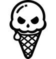 danger cream vector image vector image