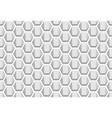 hexagon geometric pattern seamless texture vector image vector image