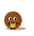 abstract hedgehog object isolated vector image vector image