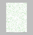 abstract repeating dot pattern brochure template vector image vector image