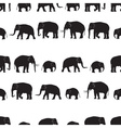 black elephants walking seamless pattern eps10 vector image vector image