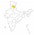 himachal pradesh vector image vector image