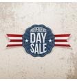Independence Day Sale vintage Emblem vector image vector image