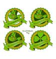 set badges for saint patricks day vector image vector image