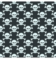 Simple seamless pattern with human skulls vector image vector image