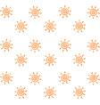 sun wallpaper on white background vector image vector image