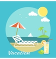 Traveling and Summer Vacation vector image