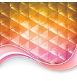 triangular background vector image