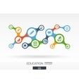 Education Growth abstract background with vector image