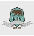 Finance forex Labels Logo vector image vector image