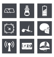 Icons for Web Design and Mobile Applications set 3 vector image vector image