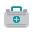medical health kit vector image vector image