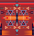 seamless ethnic tribal pattern ornament vector image