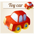 Toy red car Cartoon vector image vector image