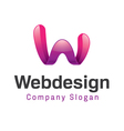 Web Design Design vector image