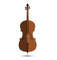 cello music orchestra background isolated violin vector image