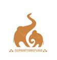 african elephants vector image vector image