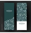Beautiful banner template with floral vector image vector image