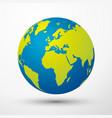 globe koncept 2 vector image vector image