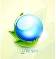 Green concept icon vector image vector image