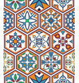 seamless texture beautiful mega patchwork pattern vector image vector image