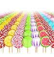 Sweet Infinity Background vector image vector image