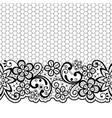 wedding lace patternretro design vector image vector image