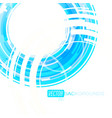 abstract blue lines colors motion vector image vector image