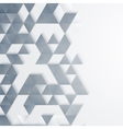 Abstract geometric background with triangles vector image
