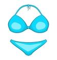 Bikini icon cartoon style vector image vector image