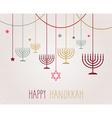 Hanukkah design vector image vector image