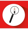 human resources searching chef graphic vector image