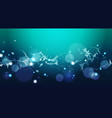 abstract polygonal geometrical background banner vector image