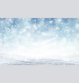background with blizzard vector image vector image