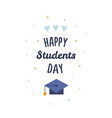 international students day vector image vector image