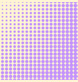 Pop art background the violet color turns into
