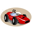 racing car vector image vector image