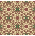 Seamless pattern The style boho vector image vector image