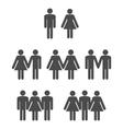 Gender symbol 2 vector image