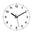 3d realistic clock vector image vector image