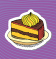Cake vector image vector image