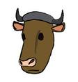 Cow head animal farm agriculture fauna