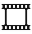 film picture icon simple style vector image vector image