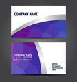 simple business template vector image vector image